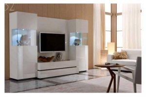 Гостиная Night fly (белая) - Импортёр мебели «Мебель-Кит»