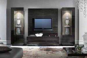 Гостиная Night fly (эбони) - Импортёр мебели «Мебель-Кит»