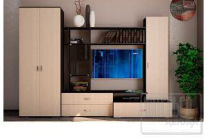 Гостиная Ника 2 со шкафом - Мебельная фабрика «Интерьер-центр»