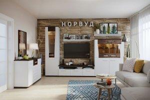 Гостиная Норвуд - Мебельная фабрика «Глазовская мебельная фабрика»