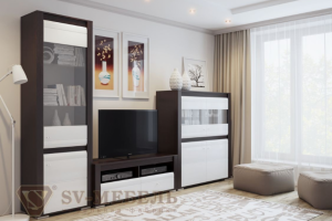 Гостиная Нота 27 - Мебельная фабрика «SV-мебель»