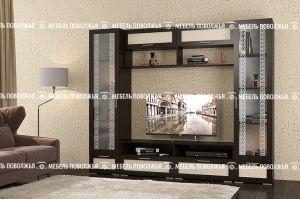 Гостиная Олимп  Рамочный фасад - Мебельная фабрика «Мебель Поволжья»