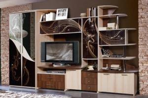 Гостиная  Орфей 5 Птица счастья  КМК 0153 - Мебельная фабрика «Калинковичский мебельный комбинат»