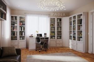 Гостиная-кабинет Paola - Мебельная фабрика «Глазовская мебельная фабрика»