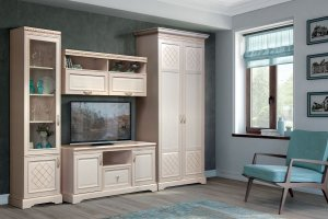 Гостиная Парма светлая - Мебельная фабрика «Яна»