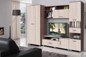 Гостиная модульная Прага-2 - Мебельная фабрика «Олимп»