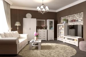 Гостиная Прованс - Мебельная фабрика «Мебельград»