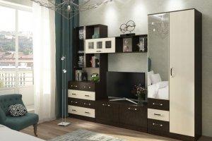 Гостиная прямая 1 - Мебельная фабрика «Вертикаль»