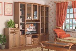 Гостиная прямая Барселона 21 - Мебельная фабрика «Визит»