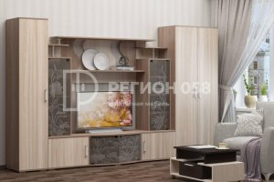 Гостиная прямая Нота 23 - Мебельная фабрика «Регион 058»