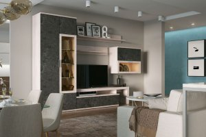 Гостиная Rimini Grace - Мебельная фабрика «Шатура»