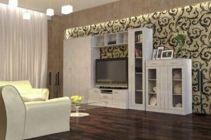 Гостиная МДФ матовая пленка ПВХ - Мебельная фабрика «КамиАл»