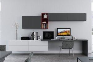 Гостиная с навесными шкафами Флорида - Мебельная фабрика «РИМИ»