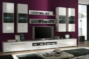 Гостиная с подвесными шкафами 6 - Мебельная фабрика «Вертикаль»