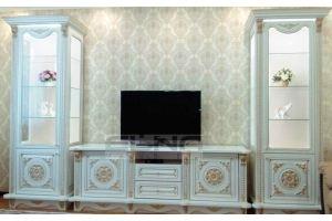 Гостиная с витринами - Мебельная фабрика «Элна»