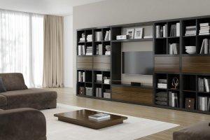 Гостиная с выкатными ящиками haus - Мебельная фабрика «Sofmann»
