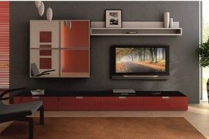 Гостиная с зеркалом Тина - Мебельная фабрика «Мир Нестандарта»