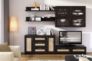 Гостиная Сэндай - Мебельная фабрика «Континент-мебель»