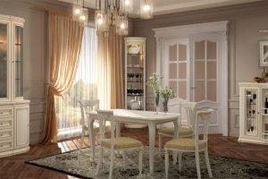 Гостиная Сильвия Белый ясень - Мебельная фабрика «Свобода»