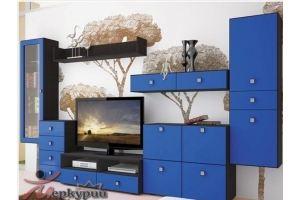 Гостиная синяя Аста - Мебельная фабрика «Меркурий»