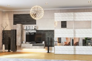 Гостиная Сияние - Мебельная фабрика «Солнечная ладья»