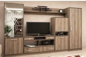 Гостиная со шкафом Зинаида - Мебельная фабрика «Мир Нестандарта»