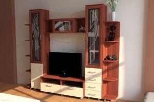 Гостиная со стеллажом МС 8 - Мебельная фабрика «Алекс-Мебель»