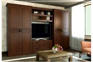 Гостиная Соло 1 орех Дижон - Мебельная фабрика «SON&C», г. Пенза