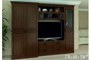 Гостиная Соло 3 орех Дижон - Мебельная фабрика «SON&C», г. Пенза