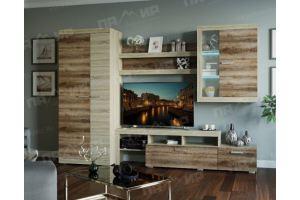 Гостиная Соната вариант 1 - Мебельная фабрика «Памир»