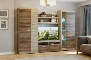 Гостиная Соната вариант 3 - Мебельная фабрика «Памир»