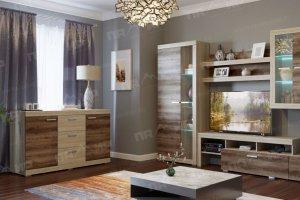 Гостиная  Соната вариант 6 - Мебельная фабрика «Памир»