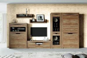 Гостиная Соренто Дуб стирлинг 2 - Мебельная фабрика «Мебельград»