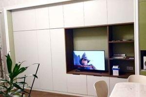 Гостиная современная светлая - Мебельная фабрика «Омега»