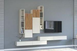 Гостиная современная навесная Verso - Мебельная фабрика «Parra»