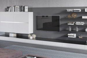Гостиная-стеллаж BRIO - Мебельная фабрика «Giulia Novars»