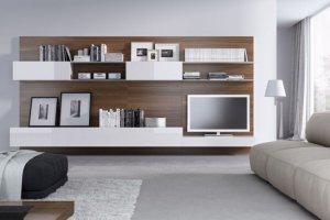Гостиная стеллажного типа MARIA LUCIDO - Мебельная фабрика «Giulia Novars»