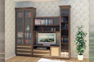 Гостиная стенка 02 - Мебельная фабрика «Профит»