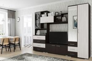 Гостиная стенка-7 - Мебельная фабрика «Новосибирская Мебель»
