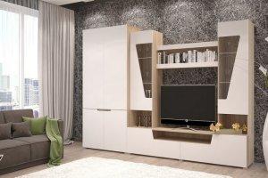 Гостиная стенка Анталия 3 - Мебельная фабрика «ДиВа мебель»