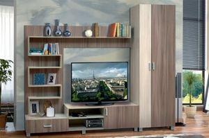 Гостиная стенка Аврора 18 - Мебельная фабрика «Аджио»
