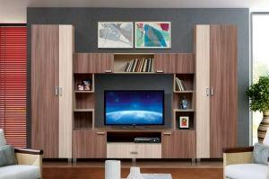 Гостиная стенка Аврора 19 - Мебельная фабрика «Аджио»