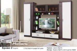 Гостиная стенка Браво 2 - Мебельная фабрика «Союз-мебель»