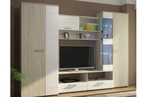 Гостиная стенка Флоренция-5 - Мебельная фабрика «КорпусМебель»
