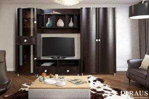 Гостиная стенка Камелия 15 - Мебельная фабрика «РАУС»
