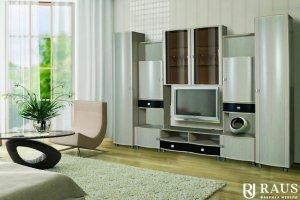 Гостиная стенка Камелия 18 - Мебельная фабрика «РАУС»