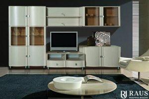 Гостиная стенка Камелия 24 - Мебельная фабрика «РАУС»
