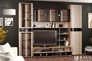 Гостиная стенка Камелия 31 - Мебельная фабрика «РАУС»