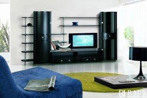 Гостиная стенка Камелия 33 - Мебельная фабрика «РАУС»