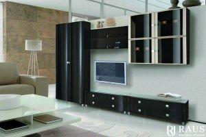 Гостиная стенка Камелия 37 - Мебельная фабрика «РАУС»